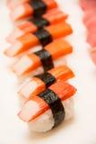 суши японии еды традиционные Стоковые Фотографии RF