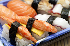 Суши, японская еда. Стоковые Фото