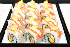 Суши, японская еда Стоковые Фото