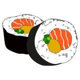 Суши Futomaki стоковое фото rf