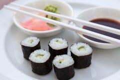 Суши Hoso Maki Стоковые Изображения RF