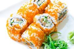 Суши Maki - крен Стоковое Изображение