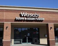 Суши Wasabi & азиатское сплавливание, Мемфис, TN стоковое фото