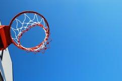 Суд баскетбола внешний Стоковые Фото