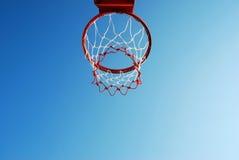 Суд баскетбола внешний Стоковые Изображения