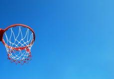 Суд баскетбола напольный Стоковые Фотографии RF