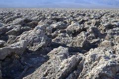 Суд гольфа дьявола в Death Valley Стоковое Фото