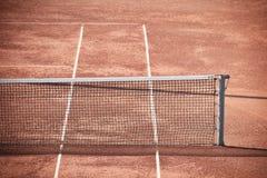 Суд глины тенниса Стоковые Изображения