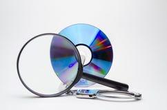 Судебная медицина компьютера Стоковое Изображение