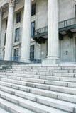 судебная система здания зодчества Стоковая Фотография RF