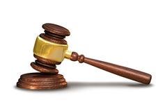 Судит молоток, концепцию правосудия стоковые изображения rf