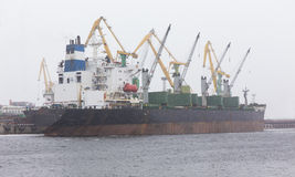 Судно-сухогруз груза Стоковая Фотография