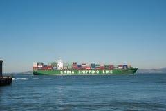 Судоходная линия Китая стоковое изображение rf