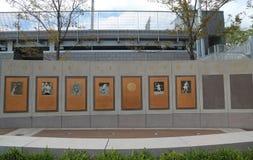 Суд США открытый чемпионов на короле Национальн Теннисе Центре Билли Джина в топить, NY Стоковое фото RF