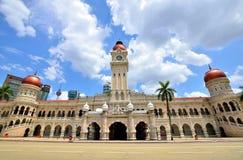 Султан Abdul Samad строя Куала-Лумпур Стоковое Фото