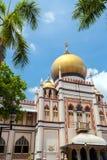 Султан masjid Сингапура Стоковое фото RF