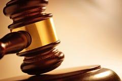 Судья или молоток аукционистов Стоковые Изображения