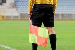 Судья-рефери футбола Стоковые Изображения
