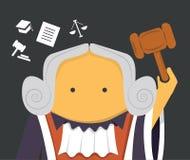 Судья с молотком Стоковая Фотография RF