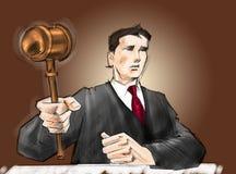 судья бесплатная иллюстрация