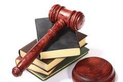судья gavel Стоковое Изображение