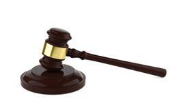 судья s gavel Стоковая Фотография