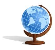 сфера глобуса земли Стоковая Фотография RF