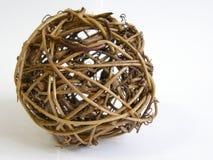 сфера деревянная стоковое изображение