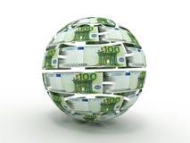 сфера евро иллюстрация штока