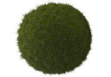 сфера зеленого цвета травы Стоковая Фотография RF
