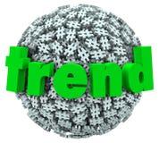 Сфера знака номерного знака 3D Hashtag слова тенденции бесплатная иллюстрация