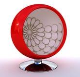сфера красного цвета стула Стоковая Фотография RF