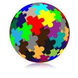 Сфера мозаики Стоковая Фотография RF
