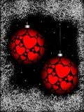 сфера орнамента рождества иллюстрация вектора