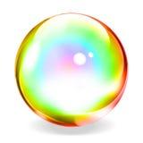 сфера прозрачная иллюстрация вектора