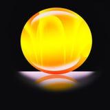 Сфера сверкная света Стоковое фото RF