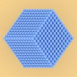 Сфера стиля молекулы блокировать concepture Для графического дизайна или предпосылки, виртуальное геометрическое E иллюстрация вектора