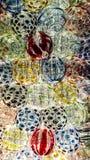 Сфера текстуры хрустального шара Стоковое Изображение