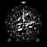 сфера часов иллюстрация штока