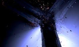 Сфера Dyson крупного плана стоковые изображения