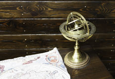 Сферически астролябия Стоковое Изображение RF