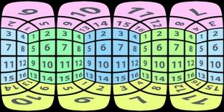 Сферически панорама внутренних граней куба бесплатная иллюстрация