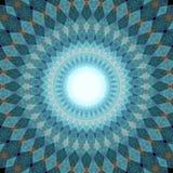 Сферически художественное произведение фрактали Стоковые Фото