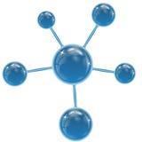 Сферы голубого цвета Бесплатная Иллюстрация