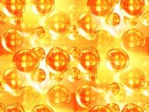 сферы золота иллюстрация штока
