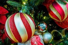 Сферы или безделушки рождества Стоковые Фотографии RF