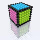 сферы кубика Стоковые Изображения