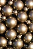 Сферы металла в солнечном свете Стоковое Изображение