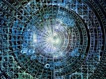 Сферы мира номеров Стоковое Изображение