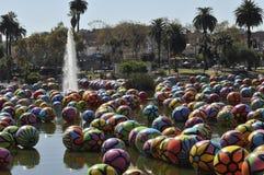 Сферы на MacArthur Park 3 стоковое изображение